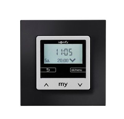 Somfy® Zeitschaltuhr Chronis Smoove IB+ Black - 1805250