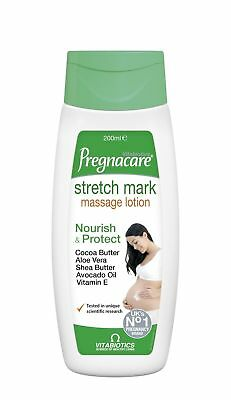 6 X Vitabiotics Pregnacare Stretch Mark Lotion 200ml => During & After Pregnancy