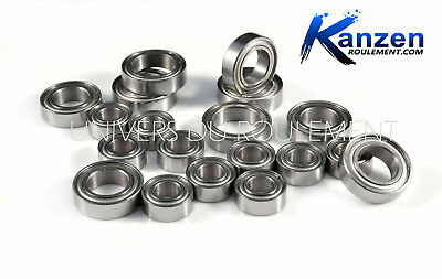 For Tamiya TL01 BLUE TL-01 Chassis Double Metal Rubber Sealed Ball Bearing