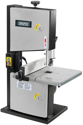 Draper 82756 Woodworking Two Wheel 200mm Bandsaw Wood Cutting 250W 230V