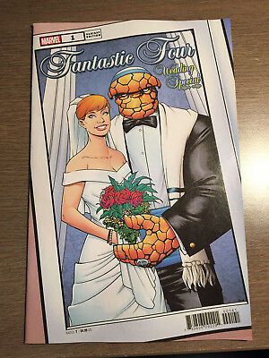 Fantastic Four Wedding Special #1 - Mckone Variant - 1St Print - Marvel (2019)
