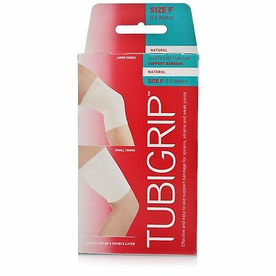Tubigrip size - F 0.5 Metre Natural Elasticated Tubular Support Bandage