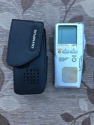 Olympus DS4000 Digital Voice recorder + Original Case. No Charger