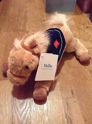 Wells Fargo Pony Nellie 2015 New Tags Stuffed Animal Horse Limited Edition Bank