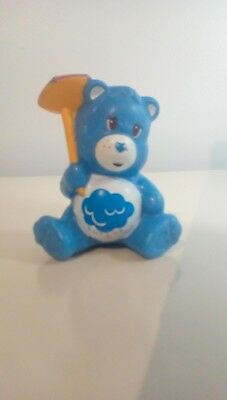 Care Bears GOOD LUCK BEAR Adjustable Adult Child Silicon Rubber Snap Bracelet
