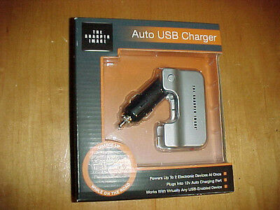 The Sharper Image AUTO USB CHARGER