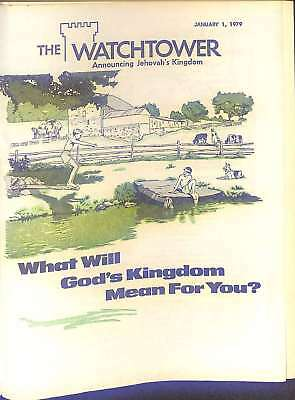 The Watchtower - 1979, Various, Good Condition Book, ISBN