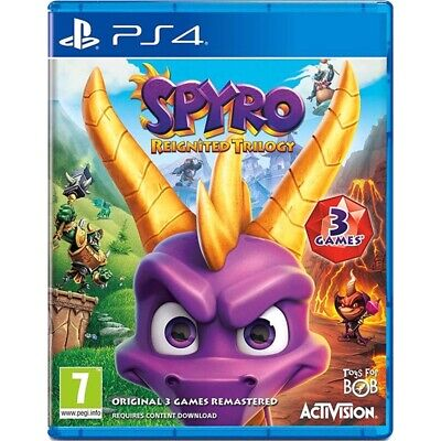 Spyro: Reignited Trilogy /ps4