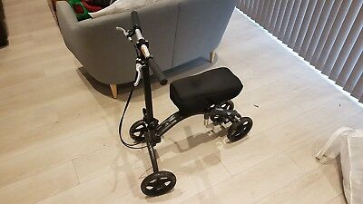 4 Wheeled Knee Walker Scooter with brakes and height adjustable handle