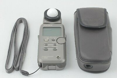 【Exc+++++】 Sekonic L-358 Flash Master Light Meter w/Case Strap from japan ♯042