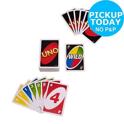 Uno! Family Card Game - 2+ Players 7+ Years