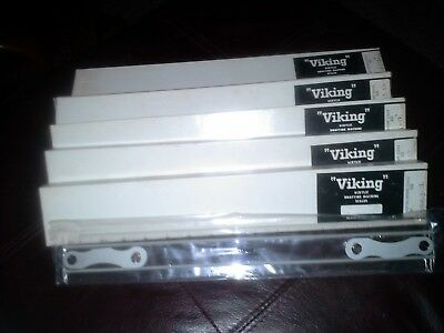 Viking Acrylic Drafting Machine Scales lot of 5 VSPM-3-12