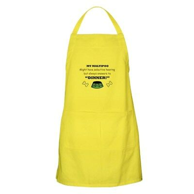 CafePress Maltipoo Apron Full Length Cooking Apron (1281092556)
