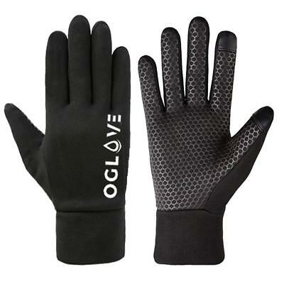 Football Field Player Gloves Waterproof Thermal Grip Boys Kids Junior