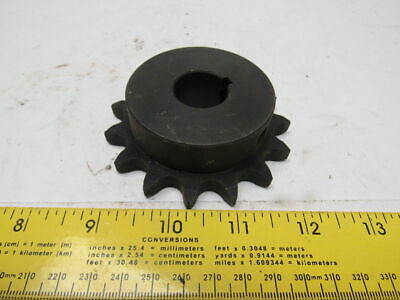"""#50 Single Row Roller Chain Sprocket 15T 7/8"""" Bore"""