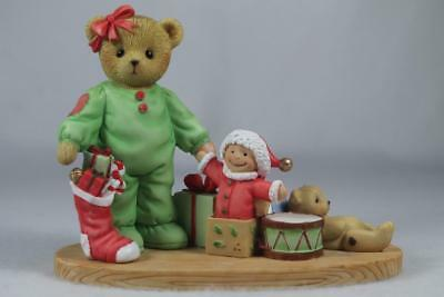 Cherished Teddies 'Jan' There's Magic In Christmas Morning #4047382 New In Box
