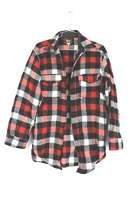 VTG Woolrich Buffalo Mackinaw Plaid Lumberjack Hunting Field Jac Shirt S Sheep