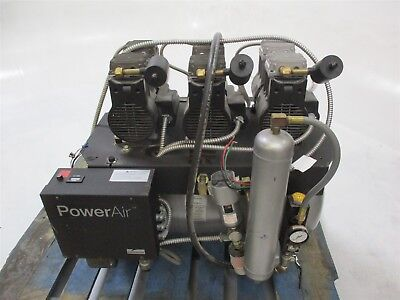 Used Midmark Power Air Dental Air Compressor System for Operatory Pressure