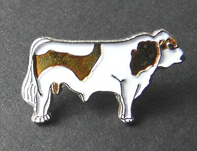 Jersey Dairy Milk Cow Cattle Lapel Pin Badge 3/4 Inch