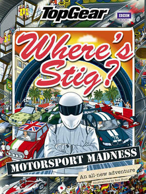 Where's Stig: Motorsport Madness, Hunt, Rod, New