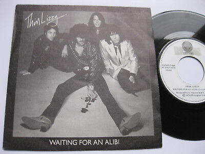 THIN LIZZY – 45 Spain PS – PROMO WL * MINT * Waiting for an alibi