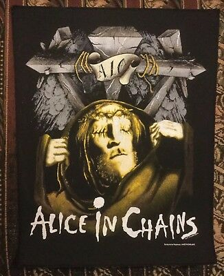 Alice In Chains Vintage 1991 Backpatch Man In The Box Rare