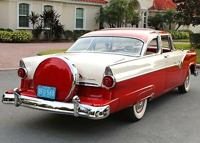 1955 Ford Crown Victoria RESTORED  LOW MILE TEXAS CAR - 41K MI RESTORED TOP OF THE LINE - 1955 Ford Crown Victoria Coupe - TEST MILES