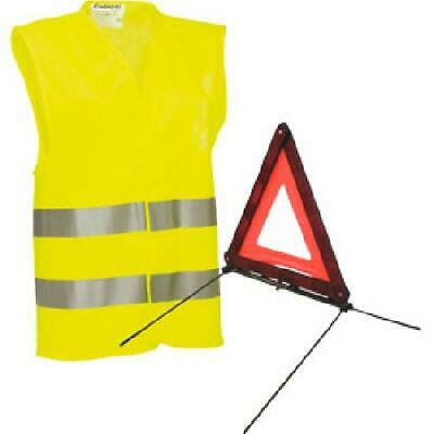 Pack securite triangle et gilet jaune Generique