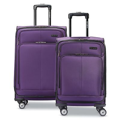 Samsonite Versatility 2-Piece Luggage Set with Dual Spinner Wheels