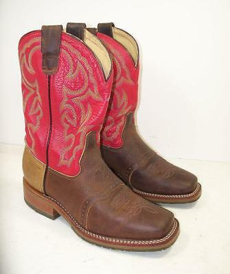 Men's Double H USA DH3556 ICE 2 Tone Soft Square Toe Work Boots 9 D