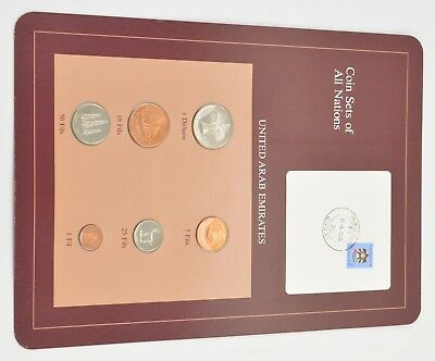 Coin Sets of All Nations - United Arab Emirates - Stamp & Coin Set *3428