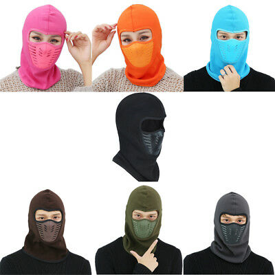 Outdoor Full Face Mask Ski Motorcycle Cycling Balaclava Winter Windproof JG