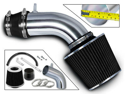 RAM AIR INTAKE KIT + BLACK DRY FILTER For 11-13 Hyundai Accent Veloster 1.6L L4