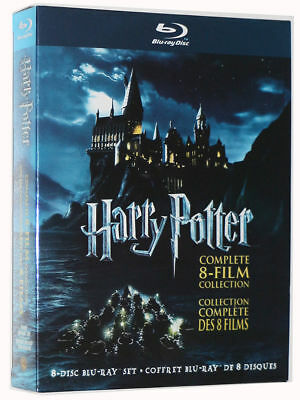 Blu-Ray Harry Potter Complete 8-Film Collection (8-Disc Set BLU-RAY, 2011)NEW