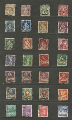 Switzerland - Early Used Selection.