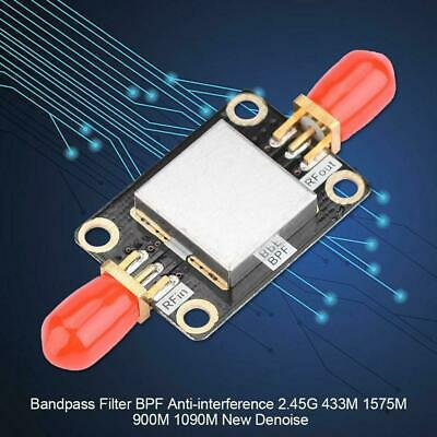 Bandpass Filter BPF Anti-interference 2.45G 433M 1575M 900M 1090M New Denoise DH