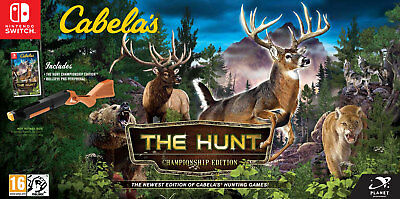 Cabelas: The Hunt Championship Edition SWITCH