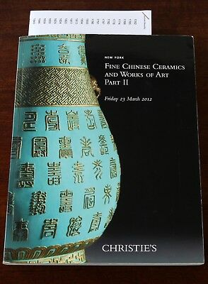 Christie's NY, Fine Chinese Ceramics and Works of Art, Part 2, 23 March 2012