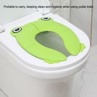 Padded Training Toilet Potty Seat Portable Toddler Kids Baby For Travel Foldable