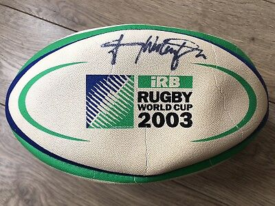 Johnny Wilkinson signed World Cup 2003 Rugby Ball - Not Authenticated