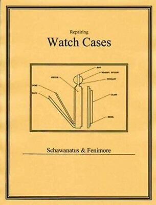 Repairing Watch Cases - How to CD - Book -