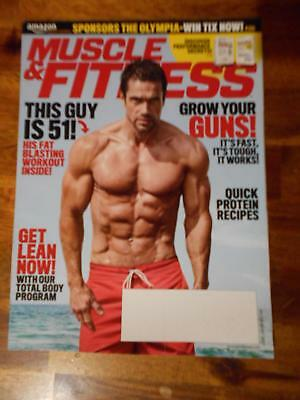 Muscle & Fitness Culturismo Revista Beiron Andersson 8-17