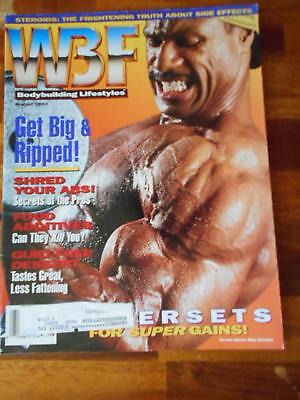 Wbf Culturismo Lifestyles Muscle Simuladores Revista / Mike Christian 8-92