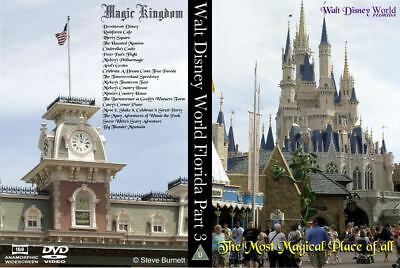 Walt Disney World Florida Part 3 - The Most Magical Place of All DVD or Blu-Ray