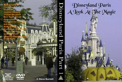 Eurodisney - Disneyland Paris Part 1 - A Look at the Magic DVD NEW