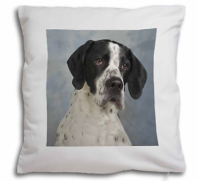 English Pointer Dog Soft Velvet Feel Cushion Cover With Inner Pillow, AD-EP1-CPW
