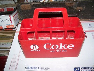 Old Coca Cola Bottle Carrier 8 Pack Carrier