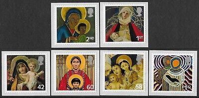 """GB. 2005. """"CHRISTMAS."""" 1 SET OF 6 STAMPS. MNH. FACE VALUE £4.07p"""