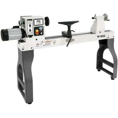 """W1852 - 22"""" x 42"""" Variable-Speed Wood Lathe - Free Shipping"""