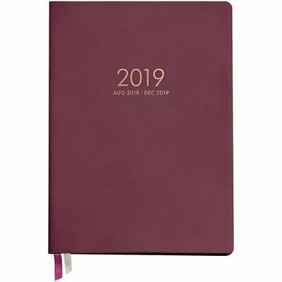 2019 Mint Large 2019 Planner, Decorative Planner by Waste Not Paper
